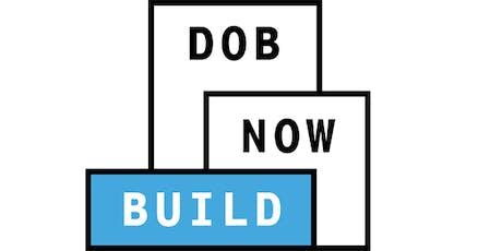 ONLINE WEBINAR: DOB NOW: Build - Mechanical (MS) filings tickets