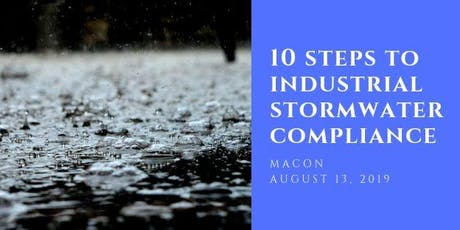 10 Steps to Industrial Stormwater Compliance tickets