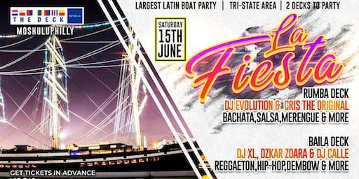 La Fiesta Boat Party