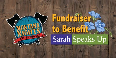 Sarah Speaks Up FUNdraiser  tickets
