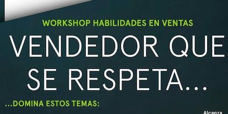 WORKSHOP DE HABILIDADES EN VENTAS tickets