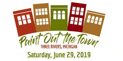 2019 Paint Out the Town, Three Rivers