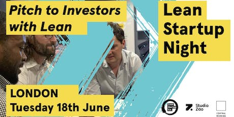 Pitching to investors with Lean tickets