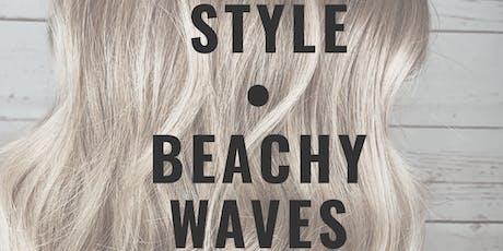 CLT Hair Workshop: Beach Waves tickets