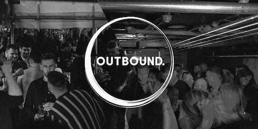 Outbound at De Koffie Pot/ Speakeasy Saturday 15th