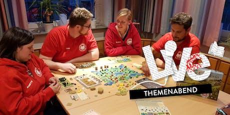 THEMENABEND: Spieleabend Tickets