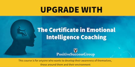 Certificate in Emotional Intelligence Coaching tickets