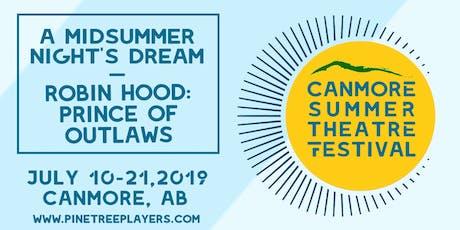 A Midsummer Night's Dream PWYC tickets
