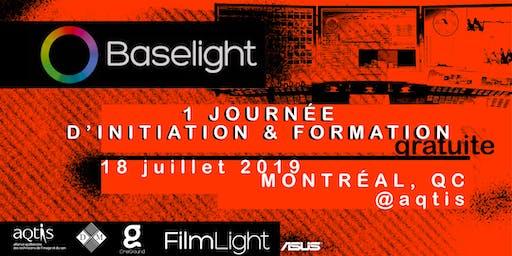 Montréal, 18 Juillet 2019 / Étalonnage sur Baselight : introduction et initiation