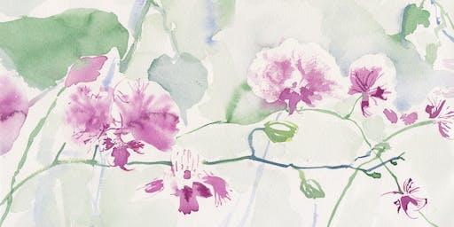 Watercolor Workshop: Orchids