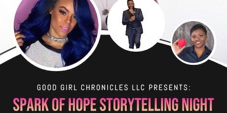 GGC: Spark of Hope Storytelling Night (Summer Edition) tickets