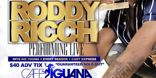 Roddy Ricch Performing Live
