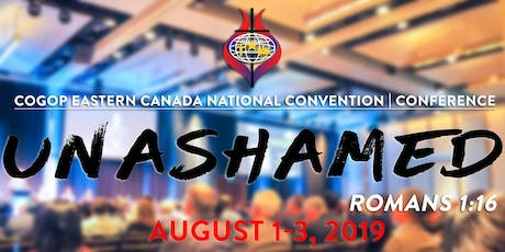 56th National Biennial Convention  |  Conference tickets