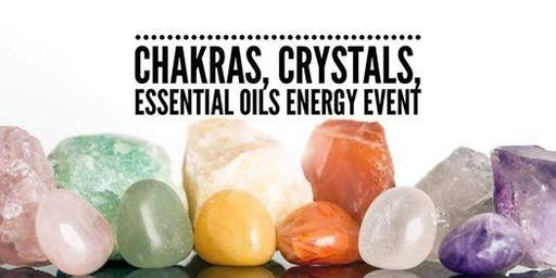 Copy of Chakras, Crystals & Essential Oils