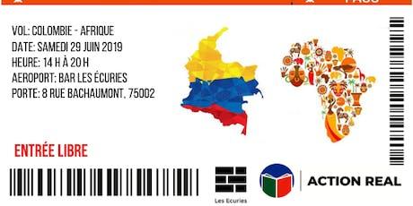 Colombie-Afrique: Aller-retour en un jour billets