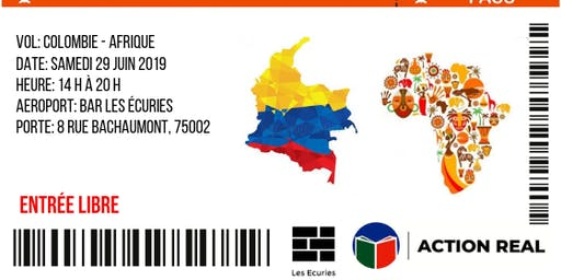 Colombie-Afrique: Aller-retour en un jour