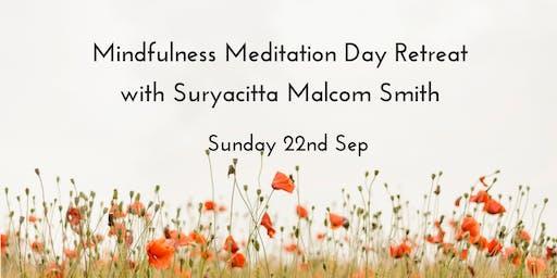 Mindfulness Meditation day retreat with Suryacitta