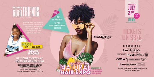 PBC Curlfriends Natural Hair Expo (7th Annual) #PBCC19 - South Florida