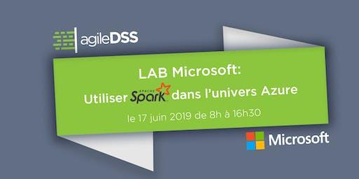 LAB Microsoft: Spark sur Azure