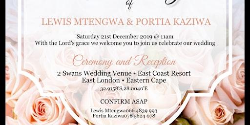 Lewis Mtengwa & Portia Kaziwa's Wedding