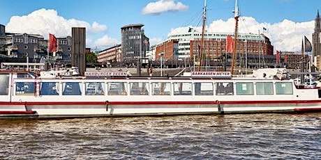 Hamburg Harbour: The Classic 1 Hour-Tour + Audio Guide Tickets