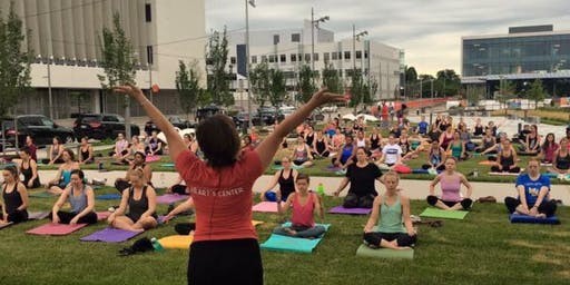 Free Yoga + Iced Coffee for International Day of Yoga