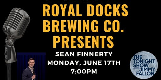 The Craft Comedy Tour is Coming to  Royal Docks Brewing Company!