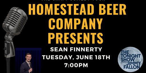 The Craft Comedy Tour is Coming to Homestead Beer Company!