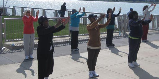 Tai Chi on the Riverfront