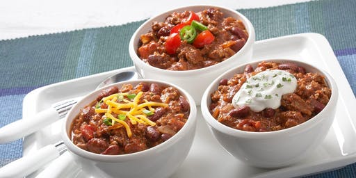 Potluck COMPETITION! Chili Cook Off!!!