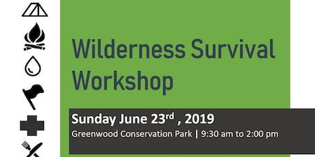 Wilderness Survival Workshop tickets