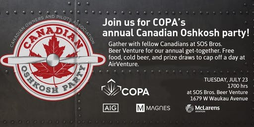 COPA's Canadian Oshkosh Party