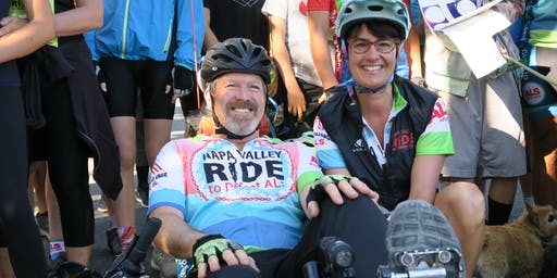 Kickoff - Napa Valley Ride to Defeat ALS and Walk
