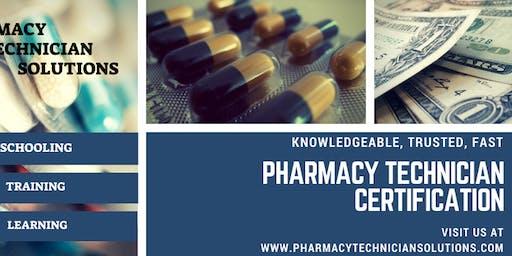 Pharmacy Technician Certification Preparation