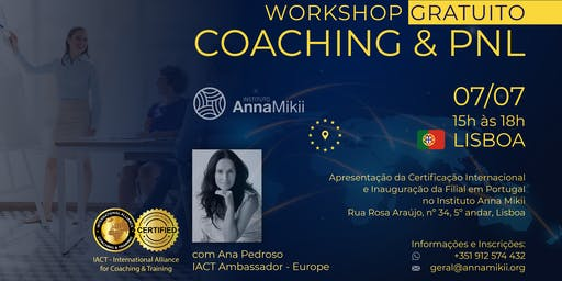 Workshop Gratuito Coaching & PNL - IACT Europe