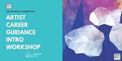 Artist Career Guidance Intro Workshop