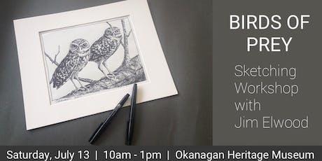 Birds of Prey Sketching Workshop tickets