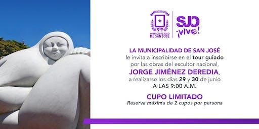 Tour Guiado por las Obras del Escultor Nacional, Jorge Jiménez Deredia