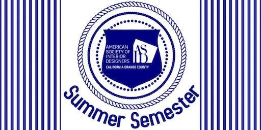 ASID OC Summer Evening Semester at SOCO