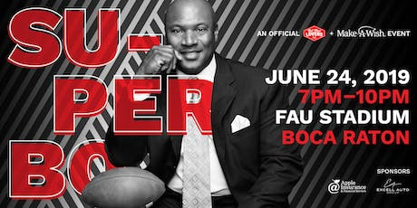 Super Bo: A night with Bo Jackson | Official Red Meat Lover's Club & Make-A-Wish Event tickets