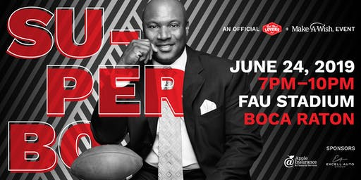 Super Bo: A night with Bo Jackson | Official Red Meat Lover's Club & Make-A-Wish Event