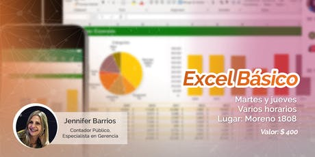 Clase de Excel Báscio entradas