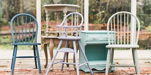 Bring Your Own Piece Furniture Painting Workshop