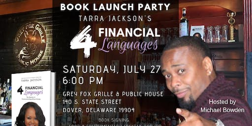 """4 Financial Languages"" Book Launch Party - Delaware"