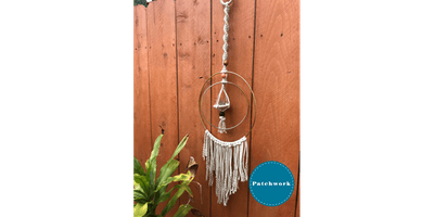 Patchwork Presents Macrame Air Plant Hanger Craft Workshop
