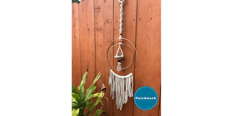 Patchwork Presents Macrame Air Plant Hanger Craft Workshop tickets