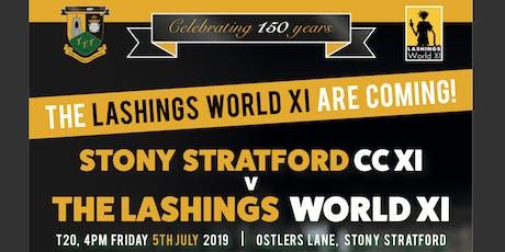 Stony Stratford CC Lashings Cricket match tickets