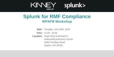 Splunk for RMF Compliance WPAFB Workshop