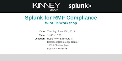 Splunk for RMF Compliance WPAFB Workshop