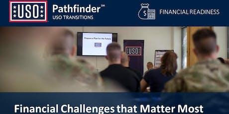 Fort Stewart & HAAF USO Pathfinder Financial Readiness Workshop tickets